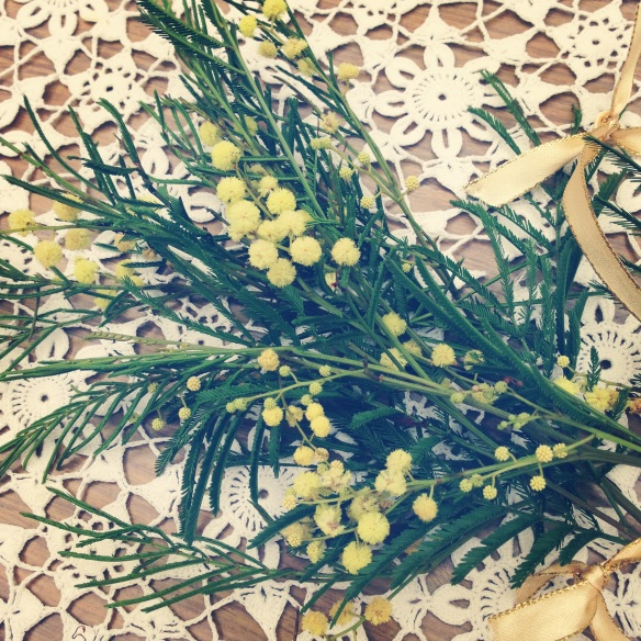 wattle for the table